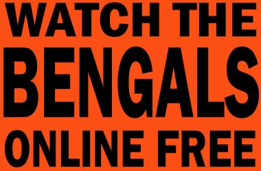 Watch Cincinnati Bengals Football Online Free