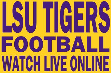 Watch LSU Football Online Free