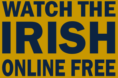 Watch Notre Dame Football Online Free